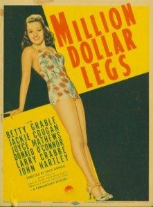 betty Million_Dollar_Legs_FilmPoster