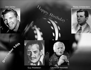 Happy Birthday to movie actors  12 14
