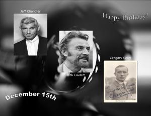 Happy Birthday to movie actors  12 15