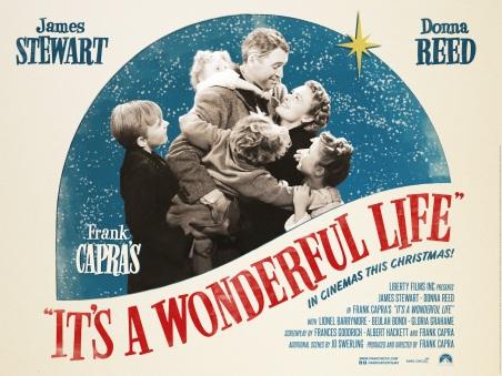Resultado de imagen para it's a wonderful life poster