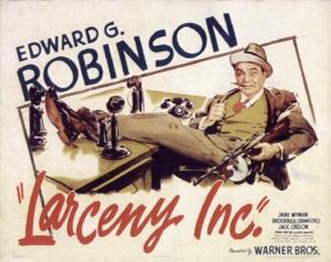 rob films-larceny-poster