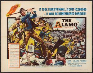 widTheAlamo1960half-sheet
