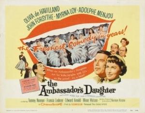 diorThe_Ambassador's_Daughter_FilmPoster