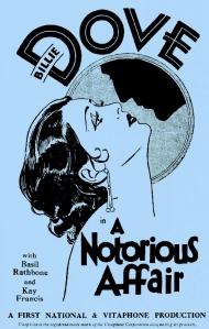 kayA_Notorious_Affair_1930_Poster