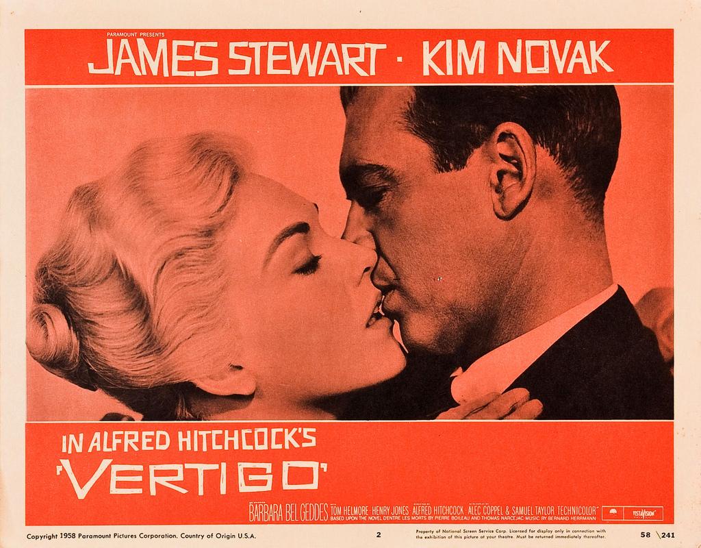 Vertigo, 1958. One Man's Obsession, My Growing Admiration ...