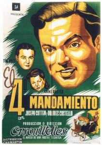 ambersonsEL CUARTO MANDAMIENTO - The Magnificent Ambersons - 1942