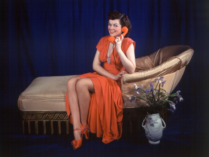 Barbara Hale lounge
