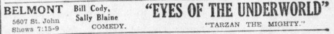 Eyes of the Underworld ad The_Kansas_City_Star_Sat__Nov_2__1929_