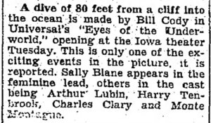 Eyes of the Underworld article The_Mason_City_Globe_Gazette_Mon__Jun_17__1929_