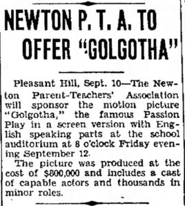 Golgotha community annoucement The_Piqua_Daily_Call_Wed__Sep_10__1941_