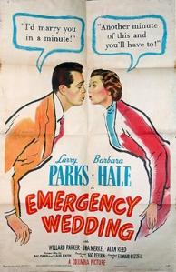 Hale emergencywedding