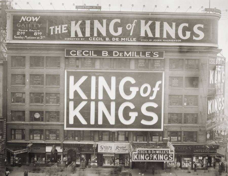 king of kings the 1927 silent masterpiece classic film