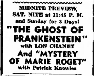 Mystery of Marie Roget The Daily Herald Friday May 29 1942 (2)