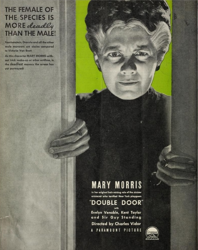 Double Door Wednesday May 2 1934 The Film Daily (2)