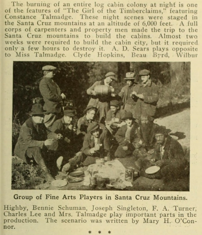 Girl of the Timber Claims Moving Picture World January 27  1917