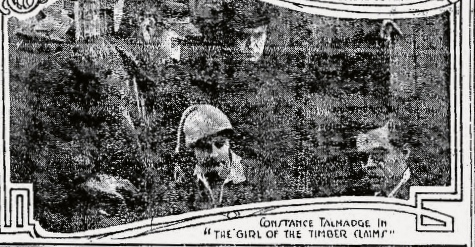 Girl of the Timber Claims San Antonio Light, Sunday, August 26, 1917 (2)