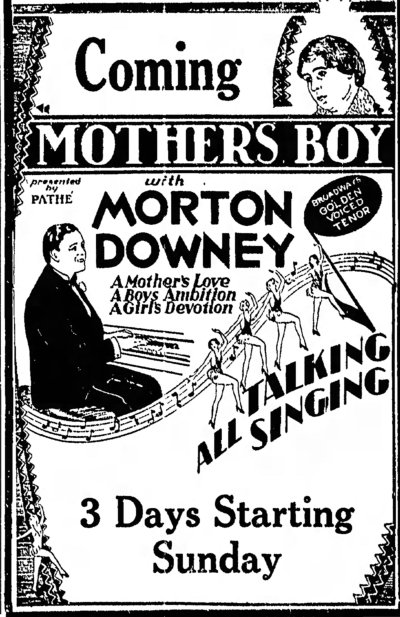Mother's Boy ad Ironwood_Daily_Globe_Wed__Aug_21__1929_