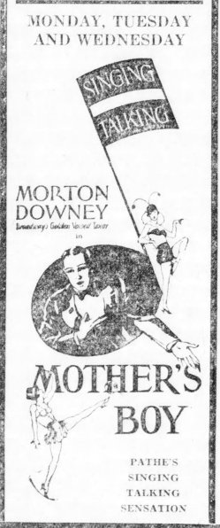 Mother's Boy ad New_Castle_News_Sat__Sep_7__1929_