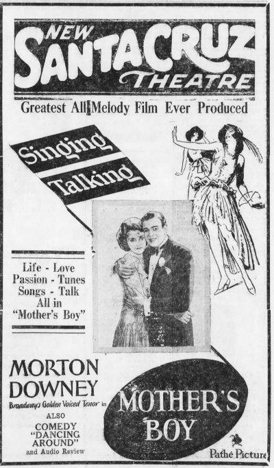 Mother's Boy ad Santa_Cruz_Evening_News_Tue__Aug_20__1929_