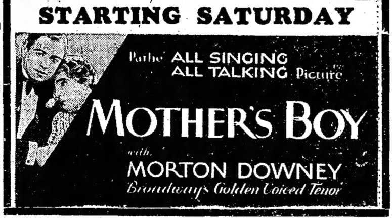 Mother's Boy ad The_Mason_City_Globe_Gazette_Thu__Jul_4__1929_
