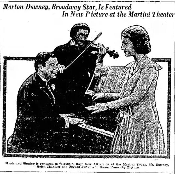 Mother's Boy announcement The_Galveston_Daily_News_Galveston, Texas Sun__Jun_23__1929_