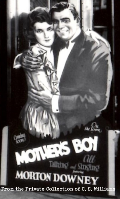 Mother's Boy Lobby Card stand alone 3