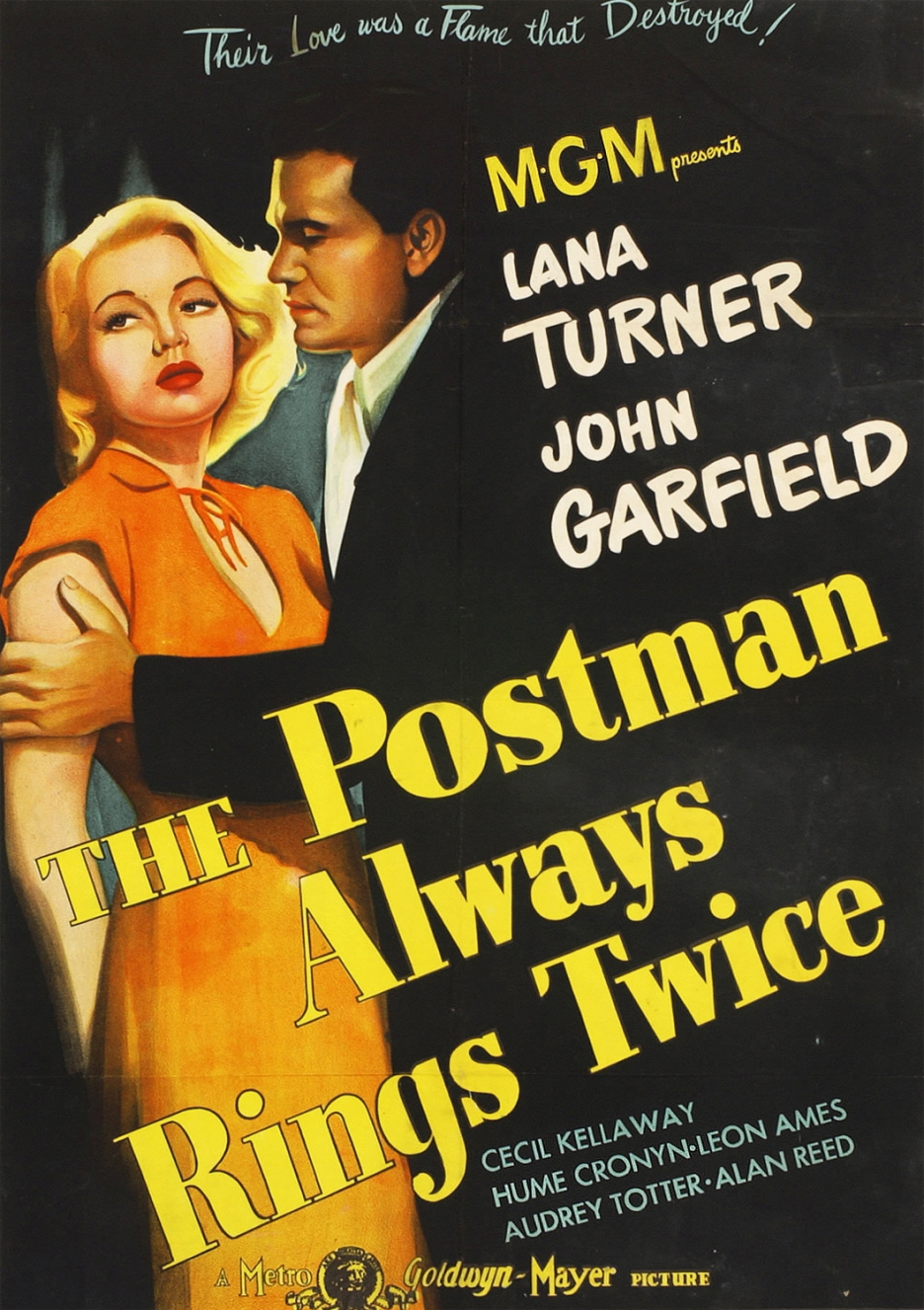 Garfield Postman Always Rings Twice