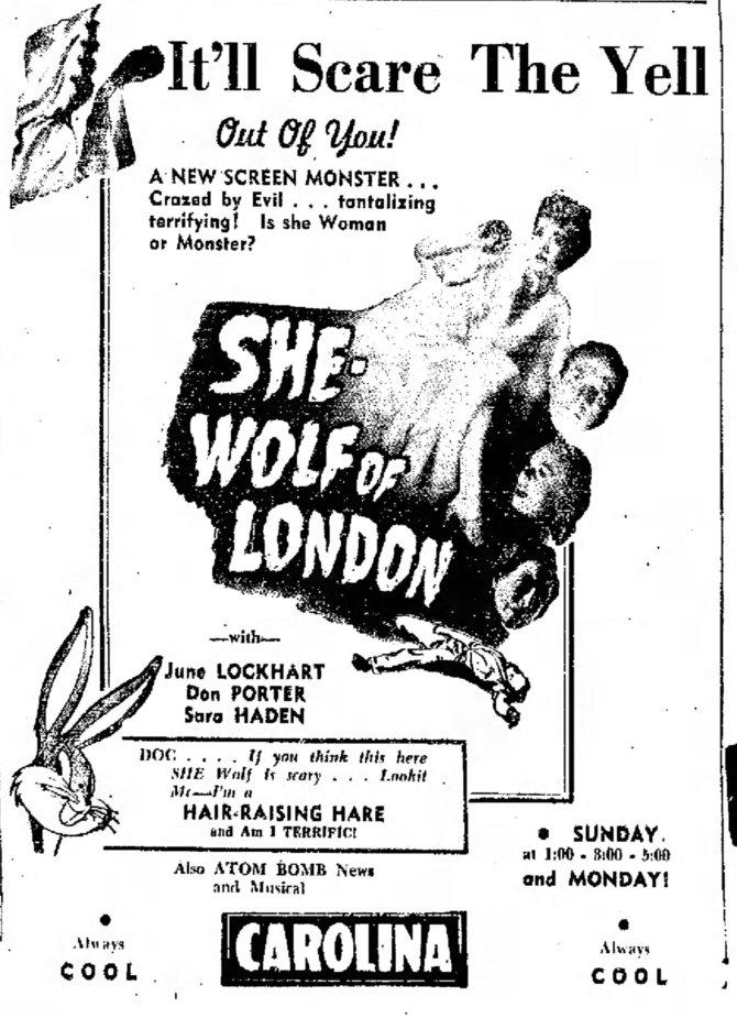 She Wolf of London The_Daily_Times_News_ Burlington, North Carolina Sat__Jul_20__1946_