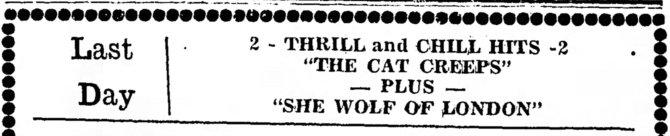 She Wolf of London The_Ludington_Daily_News_ Ludington, Michigan Thu__Aug_1__1946_