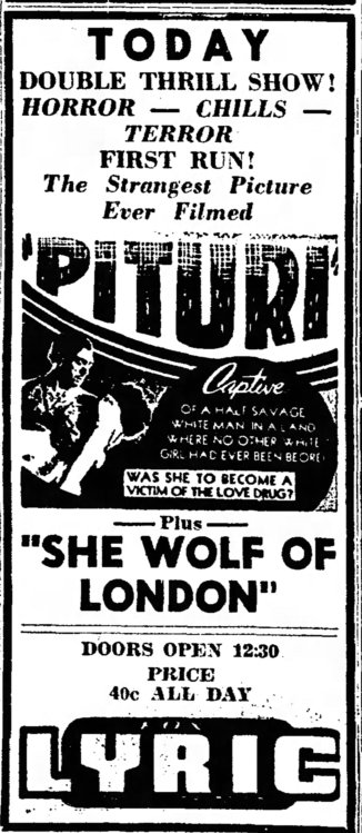 She Wolf of London Tucson_Daily_Citizen_ Tucson, ArizonaThu__Aug_1__1946_