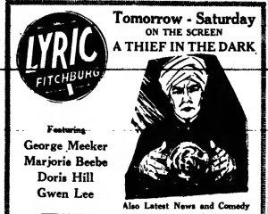 Thief in the Dark Fitchburg_Sentinel_ Fitchburg, Massachusetts Thu__Oct_18__1928_
