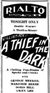 Thief in the Dark The_Escanaba_Daily_Press_ Escanaba, Michigan Fri__Apr_12__1929_