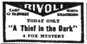 Thief in the Dark The_Indianapolis_News_ Indianapolis, Indiana Sat__Jul_14__1928_