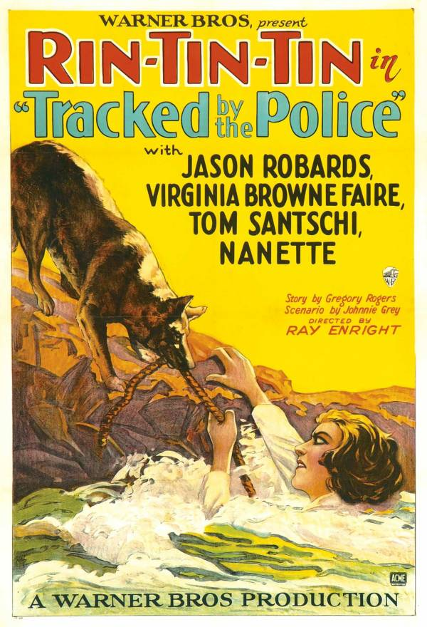 Tracked by the Police poster 2