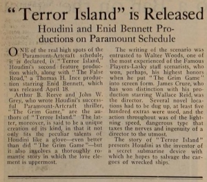 Terror Island Motion Picture News May 1 1920 (2)