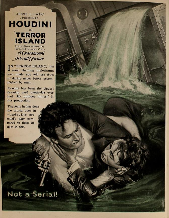 Terror Island motion picture news