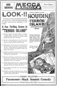 Terror Island Saginaw, Michigan, Mecca Palace Theater