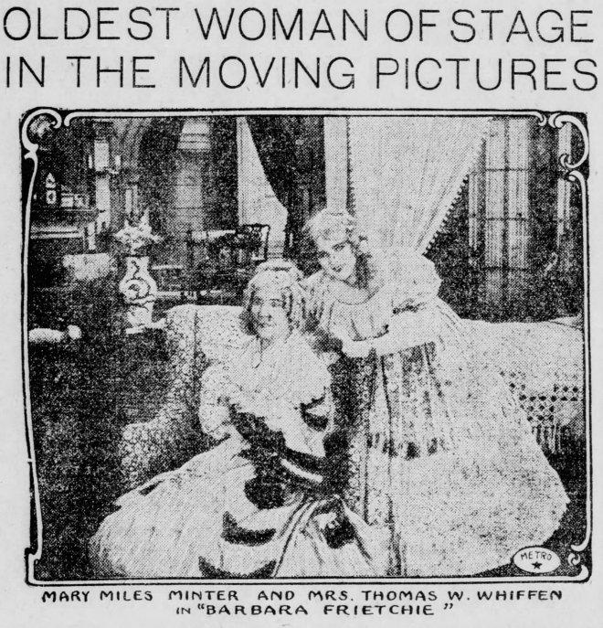 Barbara Frietchie El_Paso_Herald_Sat__Nov_6__1915_