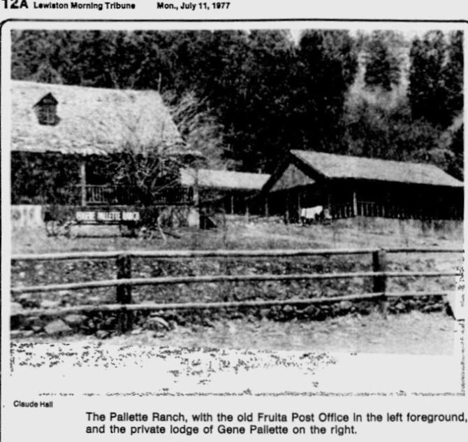 Eugene Pallette the Pallette Ranch-House Lewiston Morning Tribune Lewiston Idaho July 11 1977 (3)