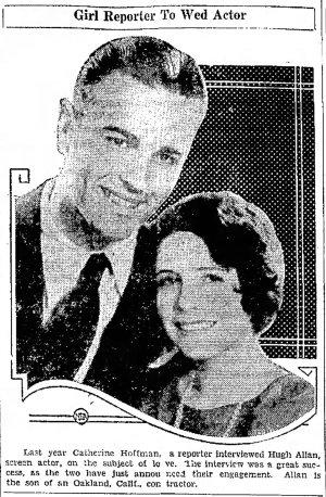 Hugh Allan and Catherine Hoffman Jefferson_City_Post_Tribune_Thu__Mar_21__1929_