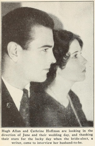 Hugh Allan and Catherine Hoffman Picture-Play Magazine (Mar-Jul 1929)