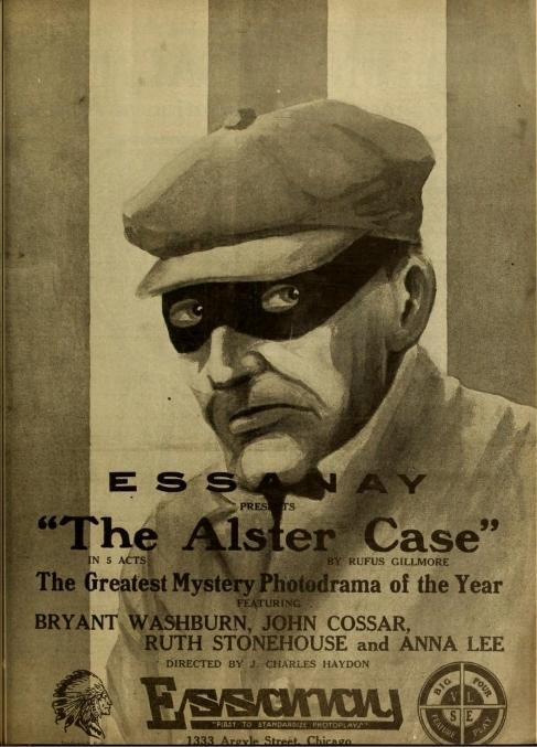 John Cossar co-starring in The Alster Case