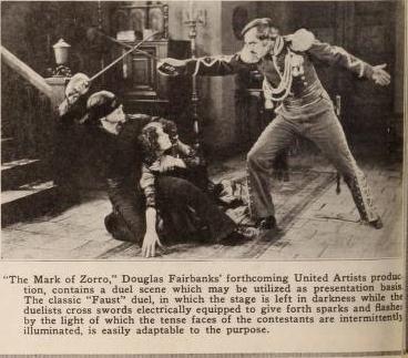 Mark of Zorro Exhibitors Herald 2