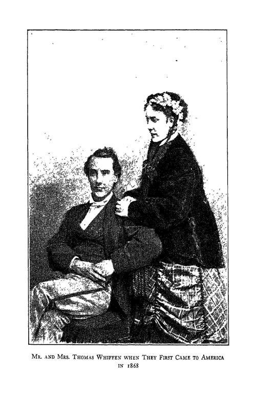Mr. and Mrs. Whiffen 1868