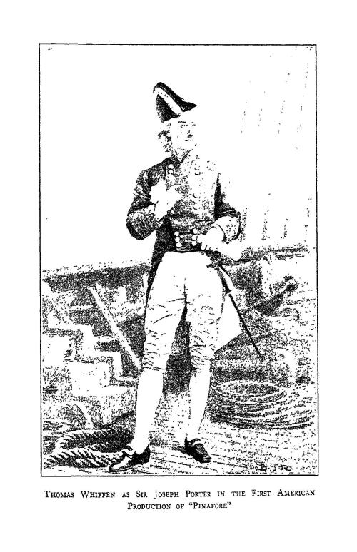 Thomas Whiffen in H. M. S. Pinafore