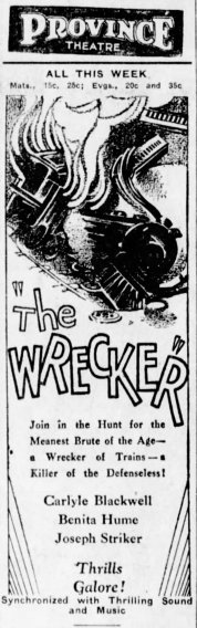 Wrecker The_Winnipeg_Tribune_Mon__Nov_18__1929_