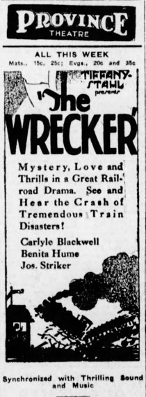 Wrecker The_Winnipeg_Tribune_Wed__Nov_20__1929_