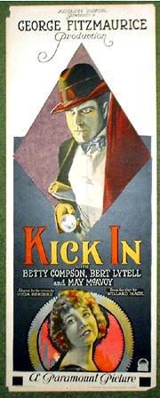 1922 KICK IN POSTER