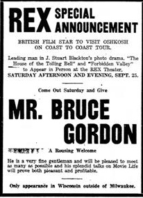 Bruce Gordon Tour