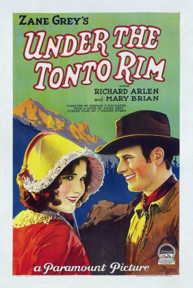 Bruce Gordon Under the Tonto Rim (1928)